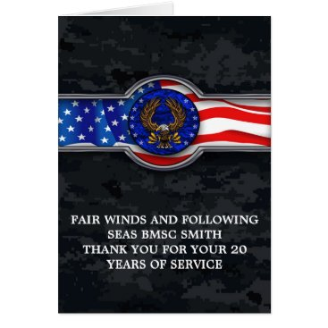 FAIR WINDS AND FOLLOWING SEAS RETIREMENT CARD