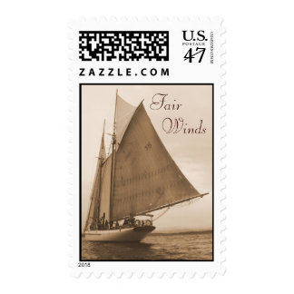 Fair  Winds Postage Stamp