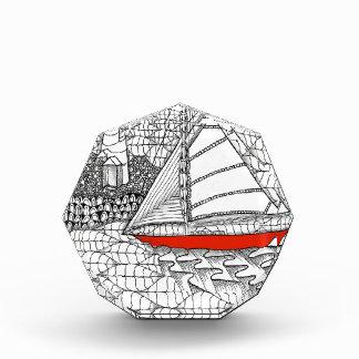 Fair Winds Sailors Prayer Style Acrylic Award