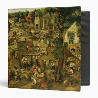 Fair with a Theatrical Performance, 1562 3 Ring Binder