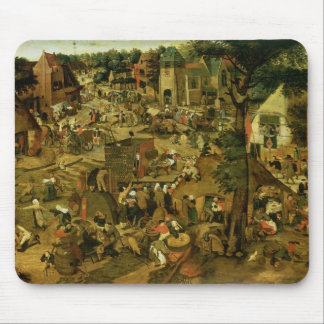 Fair with a Theatrical Performance, 1562 Mouse Pad