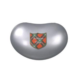 Fairbairn clan Plaid Scottish kilt tartan Candy Tin
