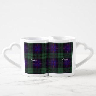 Fairbairn clan Plaid Scottish kilt tartan Coffee Mug Set