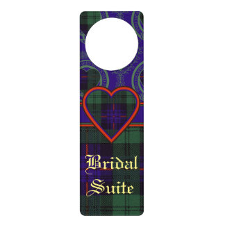 Fairbairn clan Plaid Scottish kilt tartan Door Hanger
