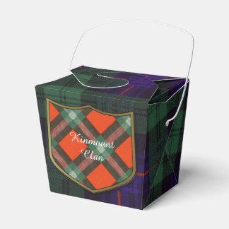 Fairbairn clan Plaid Scottish kilt tartan Favor Box