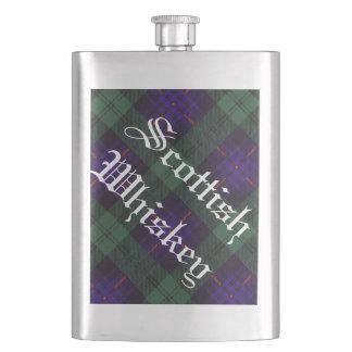 Fairbairn clan Plaid Scottish kilt tartan Flask