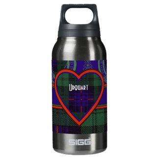 Fairbairn clan Plaid Scottish kilt tartan Insulated Water Bottle