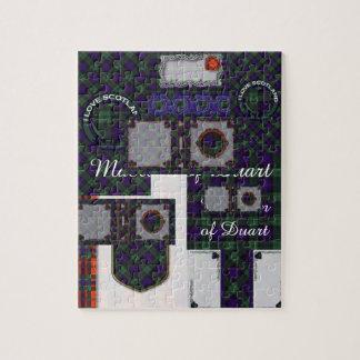 Fairbairn clan Plaid Scottish kilt tartan Jigsaw Puzzle