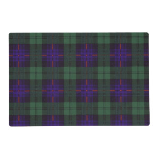 Fairbairn clan Plaid Scottish kilt tartan Placemat
