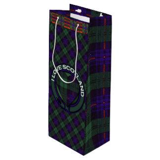 Fairbairn clan Plaid Scottish kilt tartan Wine Gift Bag