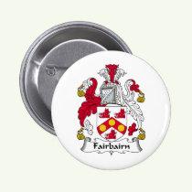 Fairbairn Family Crest Button