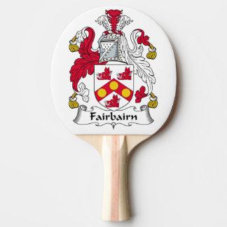 Fairbairn Family Crest Ping Pong Paddle