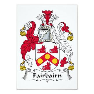 Fairbairn Family Crest Announcement