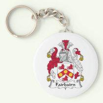 Fairbairn Family Crest Keychain