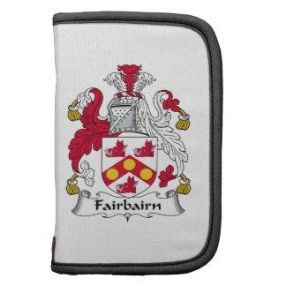 Fairbairn Family Crest Folio Planner
