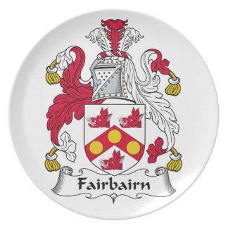 Fairbairn Family Crest Dinner Plates