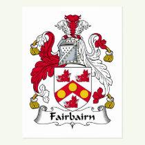 Fairbairn Family Crest Postcard