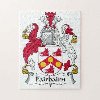 Fairbairn Family Crest Puzzles