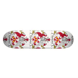 Fairbairn Family Crest Custom Skate Board