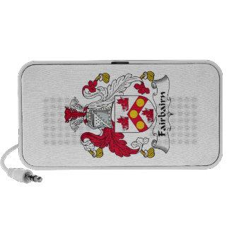 Fairbairn Family Crest Portable Speakers