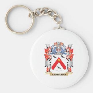 Fairbairns Coat of Arms - Family Crest Keychain