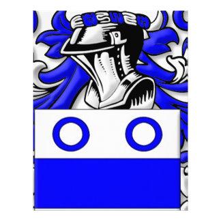 Fairbank Coat of Arms Letterhead Design