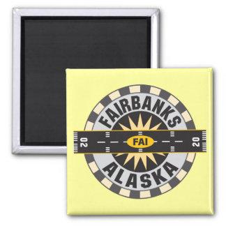 Fairbanks, AK FAI  Airport Fridge Magnet