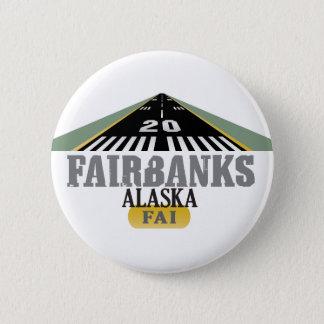 Fairbanks Alaska - Airport Runway Button