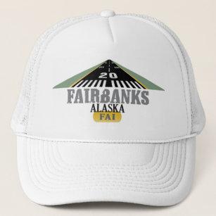 d1c3cf9d933 Fairbanks Alaska - Airport Runway Trucker Hat