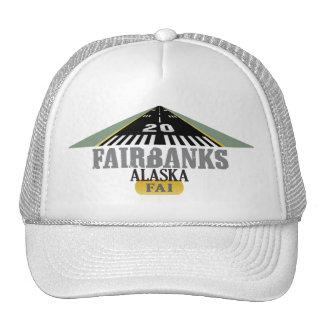 Fairbanks Alaska - Airport Runway Trucker Hat