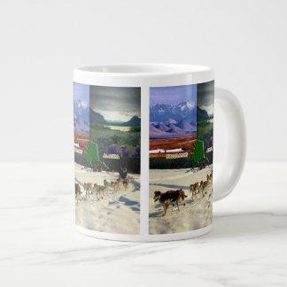 Fairbanks, Alaska Collage Giant Coffee Mug
