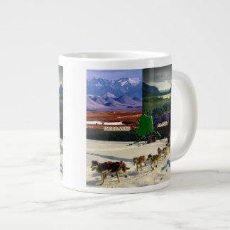 Fairbanks, Alaska Collage Jumbo Mugs