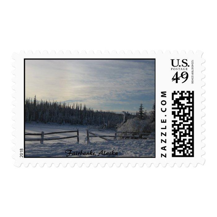 Fairbanks, Alaska - Stamp