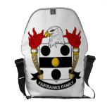 Fairbanks Family Crest Messenger Bags
