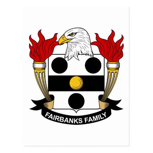 Fairbanks Family Crest Post Cards