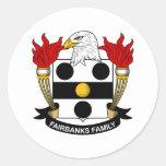 Fairbanks Family Crest Sticker