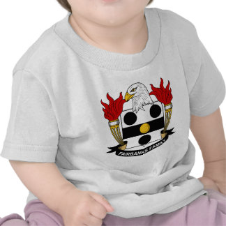Fairbanks Family Crest Tshirt