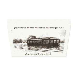 Fairbanks Morse & Company Car #24 Canvas Print