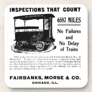 Fairbanks Morse Track Inspection Motor Car Coaster