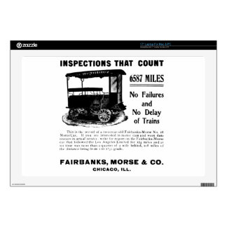 Fairbanks Morse Track Inspection Motor Car Laptop Decals