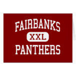 Fairbanks - Panthers - High - Milford Center Ohio Cards