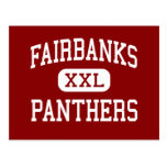 Fairbanks - Panthers - High - Milford Center Ohio Post Card