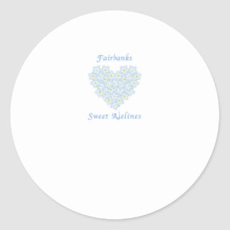 Fairbanks Sweet Adelines Chorus Classic Round Sticker