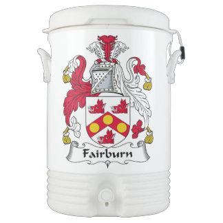 Fairburn Family Crest Igloo Beverage Cooler
