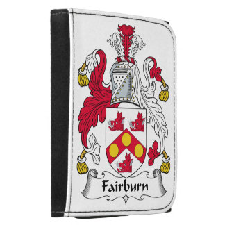 Fairburn Family Crest Leather Tri-fold Wallet