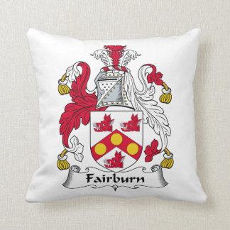 Fairburn Family Crest Pillow
