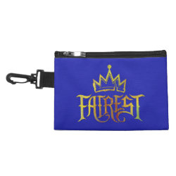 Clip On Accessory Bag with Descendants Fairest Logo design