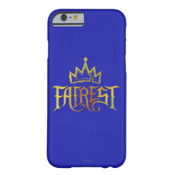 Case-Mate Barely There iPhone 6 Case with Descendants Fairest Logo design