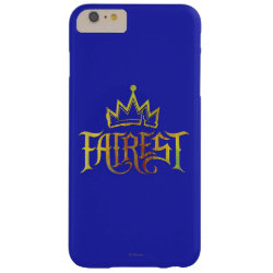 Case-Mate Barely There iPhone 6 Plus Case with Descendants Fairest Logo design