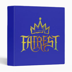 Avery Signature 1' Binder with Descendants Fairest Logo design